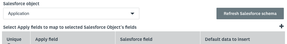 How to Create a Salesforce Mapping – SurveyMonkey Apply